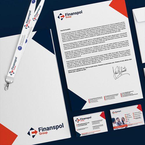 Finanspol Group - Identyfikacja wizualna