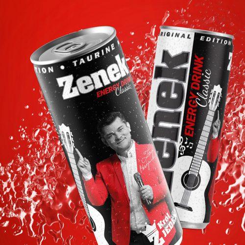 Zenek Energy Drink - Identyfikacja wizualna