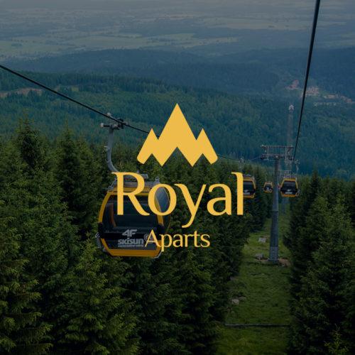 Royal Aparts - Strona internetowa